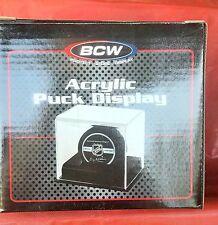 BCW Acrylic Puck Display with UV Protection NIB