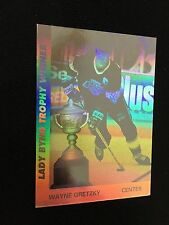 "WAYNE GRETZKY INSERT 'HOLOGRAM"" 1991 LA KINGS UPPER DECK HOCKEY CARD"