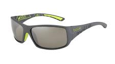 Bolle Kingsnake Sunglasses - 12121 - Matte Smoke/Green Frame w/ TNS Gun Lens