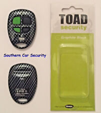 Toad Ai606 Remote control key fob case Graphite Carbon Black & rubber button gb