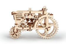 3D Holzpuzzle UGEARS TRAKTOR mechanisches Baukasten Modellbau