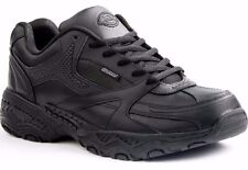 New Womens 8 DICKIES Rival All Black Work Nurse Waitress Safety Shoes Non Slip