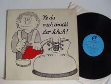 HE DU MICH DRÜCKT DER SCHUH ! Neue Kinderlieder LP Vinyl NM- EMI Elektrola 1017