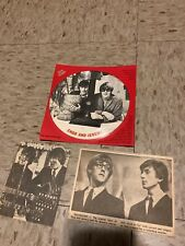 CHAD and JEREMY, Teen Scoop Interview Flexi Disc, Vinyl, Record British Invasion