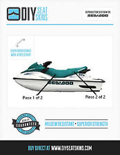 GTX GTI LE SEADOO Sea Teal Seat Skin Cover 01 02 03 04 05 06 ~FREE PDF MANUAL~