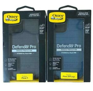 """OtterBox Defender Series Pro Case + Holster for iPhone 11 (6.1"""") Black Or Blue"""