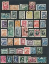 Turkey **COLLECTION OF 45 DIFFERENT (1914-30)**; MH & USED AS SHOWN; CV $60