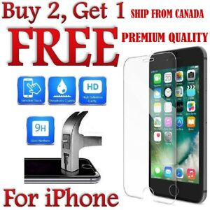 Premium Quality Screen Protector Cover for iPhone 6 7 8+ XR X 11 Pro Max SE 2020