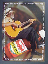 Frank's Redhot Hot Sauce Black Man Guitar Color Promo Advertising Postcard