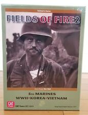 "GMT Games Fields of Fire Vol 2"" With The Old Breed"" 2019 Solitaire Game"