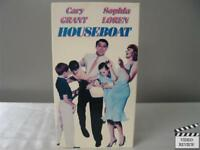 Houseboat VHS Cary Grant, Sophia Loren; Melville Shavelson