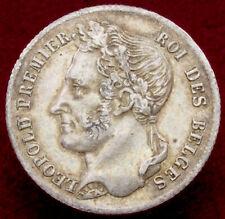 More details for belgium half (1/2) franc 1834 (h2506)