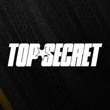 TOP SECRET Sticker Japan JDM Toyota Supra Nissan Drift Stance Decal