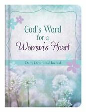 God's Word for a Woman's Heart : Daily Devotional Journal / New Hardcover