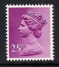 GB 1981 sg X970 25p Purple photogravure phosphorised paper MNH