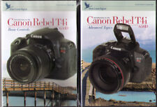Blue Crane Digital Introduction to the Canon EOS T4i Set - Basic & Advanced DvDs