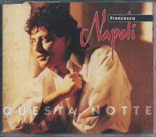 FRANCESCO NAPOLI - Questa notte CDM 3TR Italo Disco 1992 RARE!
