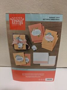 Paper Pumpkin - Stampin' Up - Giftable Greetings - refill - Aug 2017 - NEW
