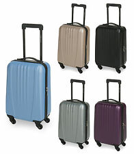 Koffer Rollen Handgepäck Trolley Boardcase Reise Koffer Hartschale Bordgepäck