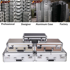 BORY Aluminum Hard Case Carrying Suitcase Home Business Toolboxes Briefcase