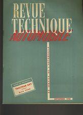 (33A) REVUE TECHNIQUE AUTOMOBILE TRACTEUR SIFT / Boîte FORD