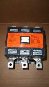 ASEA EH250C Size 5 Contactor Starter EH 250C 250HP 270 Amp 600v 120v Coil
