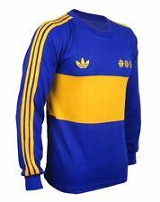 Boca Juniors Maradona Long Sleeve Retro Jersey Soccer Football Shirt All Sizes