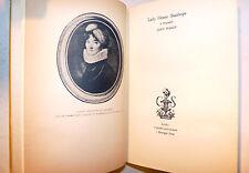 1st ed Joan Haslip: LADY HESTER STANHOPE Biography 1934 Biografia dedica autrice