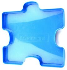 Ravensburger Puzzle Piece Organizer Tray Blue Plastic Stacking Stackable Holder