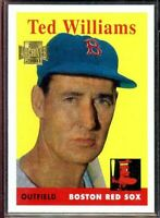2001 Topps Archives #120 1954 Ted Williams Boston Red Sox Card