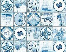 Klebefolie - Möbelfolie blau Holland - 45 cm x 200 cm selbstklebende Dekorfolie