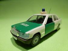 GAMA 1167 MERCEDES BENZ 190-190E - POLIZEI 0932 - POLICE CAR - VERY GOOD