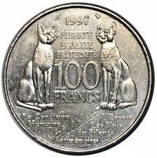 100 FRANCS ANDRÉ MALRAUX 1997
