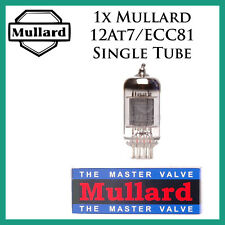 New 1x Mullard 12AT7 / ECC81 | One / Single Tube | CV4024 Reissue | Free Ship