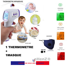 Thermomètre Flash sans contact infrarouge de precision mode 32 mémoires Stock FR