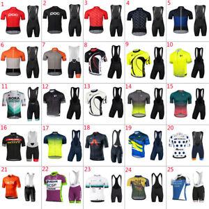 2022 Team Mens cycling jersey bib shorts sets cycling bib shorts cycling jerseys