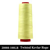 2000ft / 912M Kevlar Line String 100lbs 0.5MM Twist Flying Fishing Line Outdoors