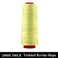 2000ft / 912M Twist Line String 100lb 0.5MM Flying Fishing Line Made with Kevlar