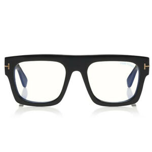 Computer Reading Glasses Tom Ford FT 5634 53 20 145 001 Fausto Black Made Italy