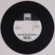 MARVIN GAY & TAMMI TERRELL: Good Lovin' Ain't Easy USA TAMLA Northern Soul 45 NM