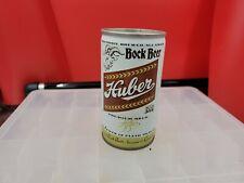 New listing Vintage Huber Bock Steel Pull Tab Beer Can