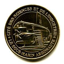 75019 Cité des Sciences, Sous-marin Argonaute, 2010, Monnaie de Paris