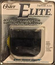 OSTER ELITE ICE TEMPERED BLADE 25% HARDER REQUIRES LESS SHARPENING 034264080829