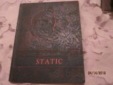 1944 Fulton High School, Fulton, IL Static Yearbook Annual - Nice! Unmarked!