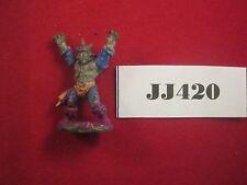 OOP WARHAMMER ss1 Campioni del Caos Arkon Stormrider 1982 Metal ref jj420
