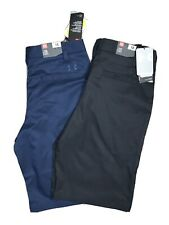 Under Armour — NWT — Boys Lot Size 18 Golf Navy And Black Shorts