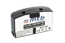 Batterie type BA 150/BA 151/BA 152 pour Sennheiser