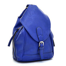 Dasein Women's Convertible Fashion Backpack/Shoulder Bag w/ Zippered Strap AMH