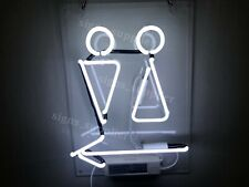 """New WC Toilet Restrooms Neon Light Sign Lamp Beer Pub Acrylic 14"""" Real Glass"""