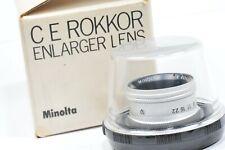 Enlarger lens Minolta  E ROKKOR 50mm / f;4,5 in good  condition,